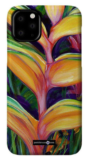 Phone Case: Tropical Flower, Heliconia