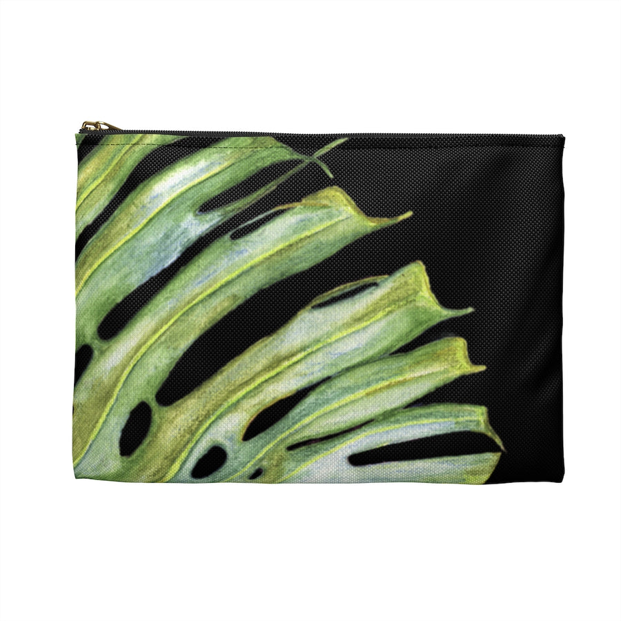 Accessory Pouch Monstera Edge