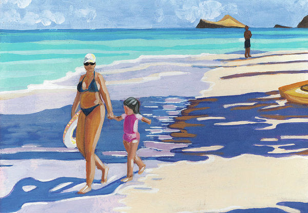 Beach Day: Archival Print