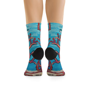 Women's Socks: Coral Assets