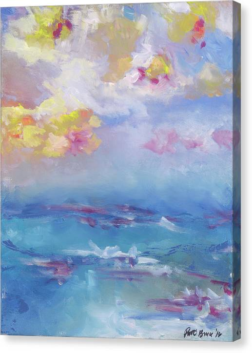 Cloudy Abstract - Canvas Print