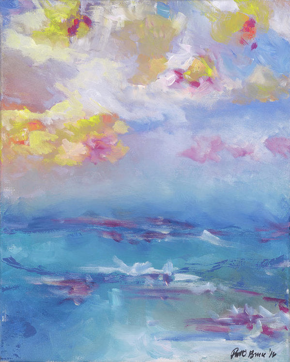Cloudy Abstract - Hawaii Tropical Sky Sunset - Archival Print