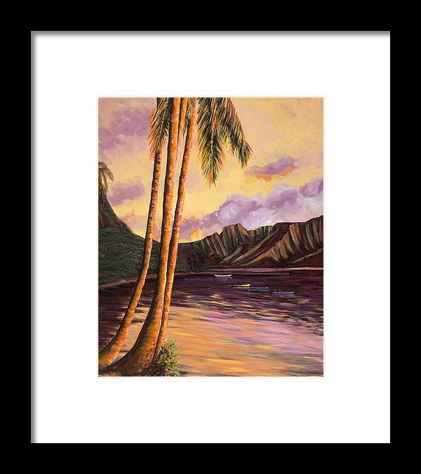 Glowing Kualoa 1 - Framed Print
