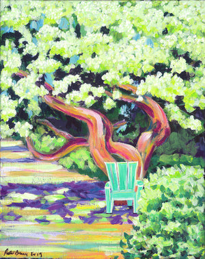 Green Chair - Archival Print