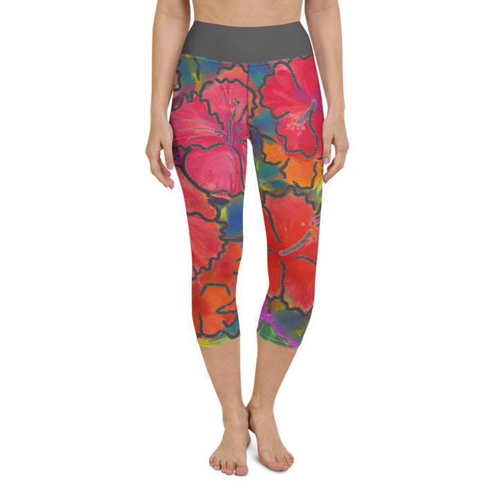 Yoga Capri Pants: Bold & Beautiful