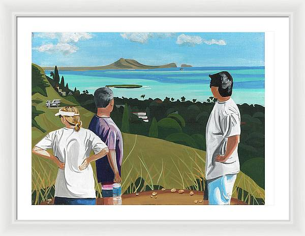 Pillbox Hike - Framed Print