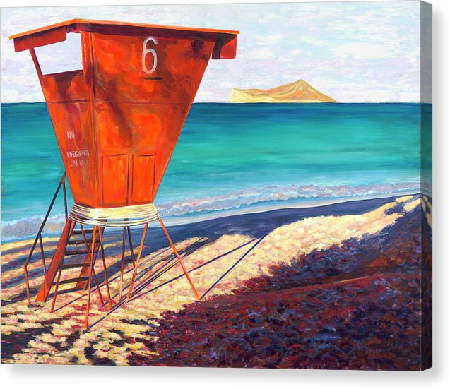 Shades Of Waimanalo - Canvas Print