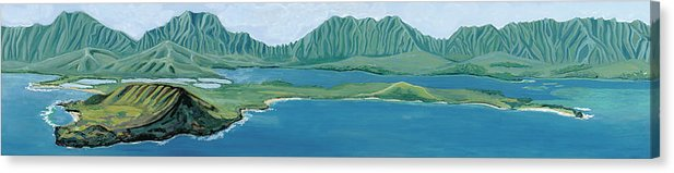 Windward Passage 1 - Canvas Print