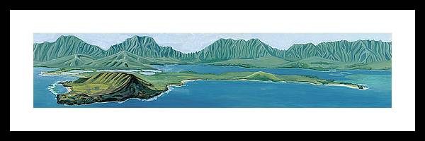 Windward Passage 1 - Framed Print