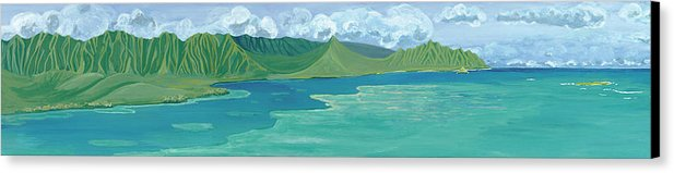 Windward Passage 2 - Canvas Print