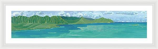 Windward Passage 2 - Framed Print