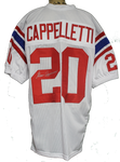 Gino Cappelletti Autograph Boston Patriots Away Jersey