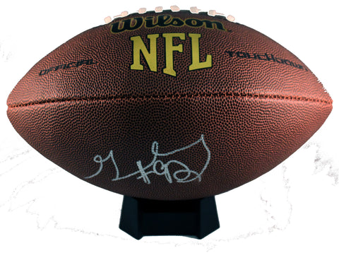 Geneo Grissom Autograph Wilson Official-Sized Football