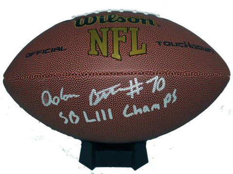 Adam Butler Autograph Wilson Official-Size Football