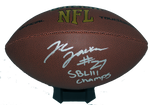 J.C. Jackson Autograph Wilson Official-Size Football