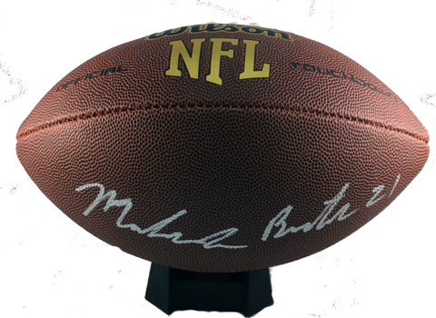 Malcolm Butler Autograph Wilson Full-Size Football