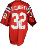 Devin McCourty Autograph Patriots Throwback Jersey