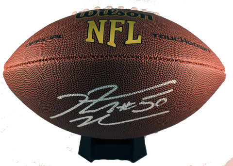 Rob Ninkovich Autograph Wilson Official-Size Football