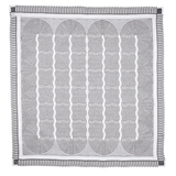 Tangled-up TEATOWEL black