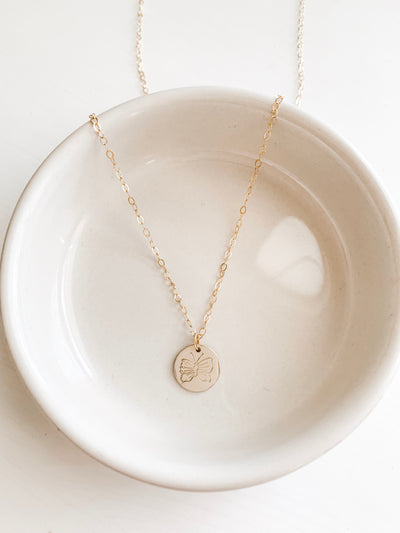 Begin Again Disc Necklace