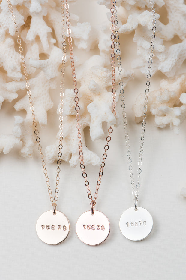 Kolbe Disc Necklace