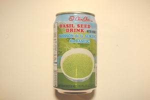 QQ Canned Basil Seed Drink