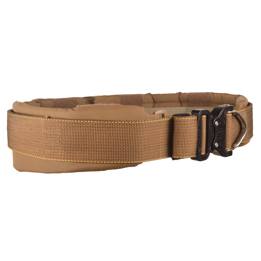 Close Out- Low Profile Padded Gun Belt Slick