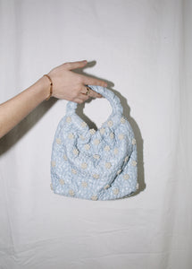 PEOPLES FLOWERS BABY BLUE QINA BAG