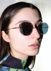 ATI CREA HANDMADE ONE OF A KIND BROKEN MIRROR SUNGLASSES