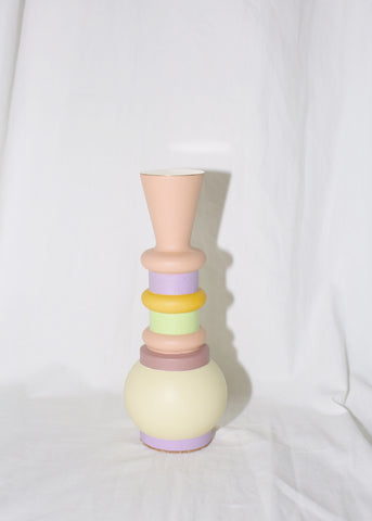 "EL QUINTO ""ODD GOODS"" MINI PEACHY CANDLE HOLDER / SCULPTURE"