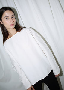 LEMAIRE WHITE COTTON SHIRT (M)
