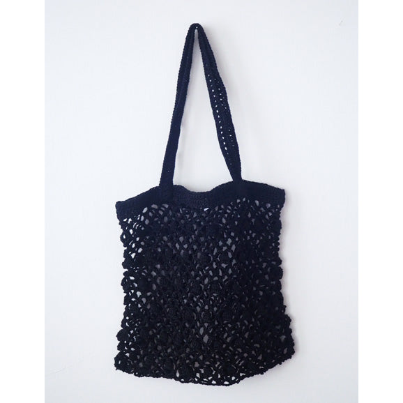 Bianca Linen Bag L (Black)
