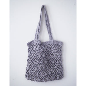 Bianca Linen Bag L (Grey)