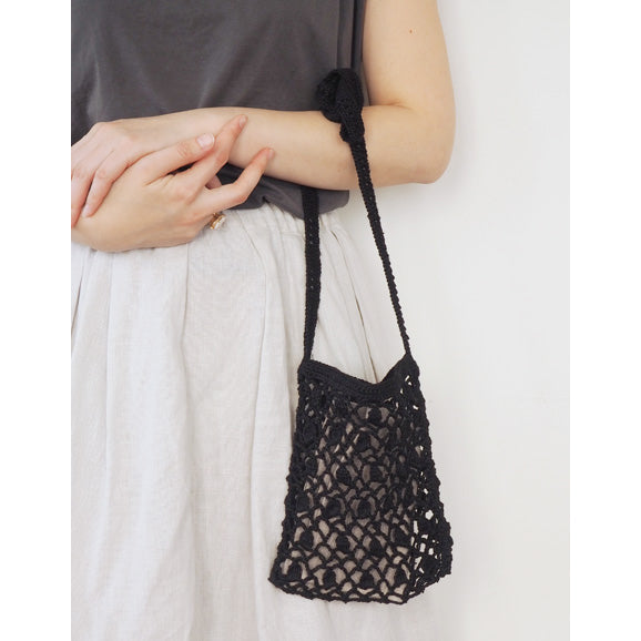 Fog Linen Bianca Bag S (Black)