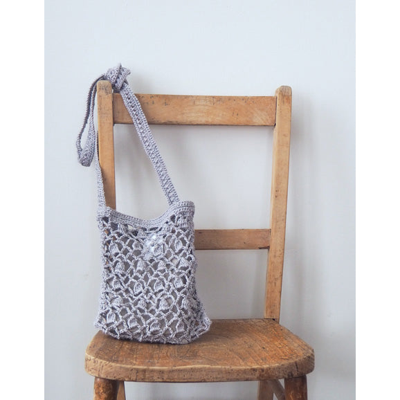 Bianca Linen Bag S (Grey)