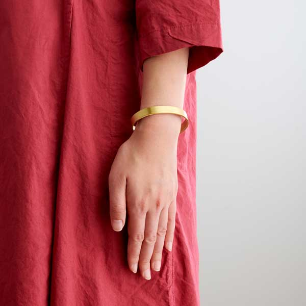Brass Bracelet (Wide)