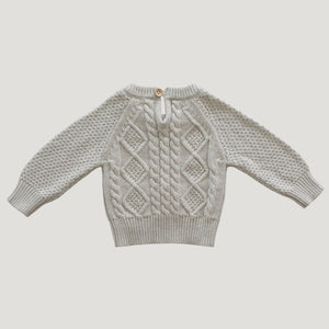 Jamie Kay Cable Knit (Oatmeal)