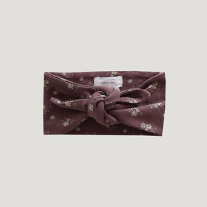 Organic Cotton Headband (Dusk Floral)