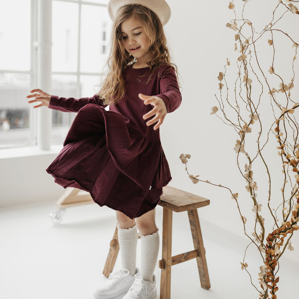Echo Dress (Plum)