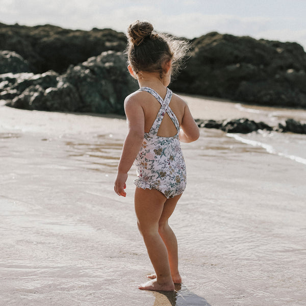 Everly Swimsuit (Wild Floral)