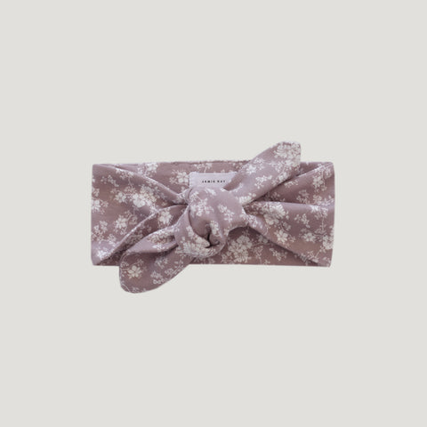 Organic Cotton Headband (Fawn Floral)
