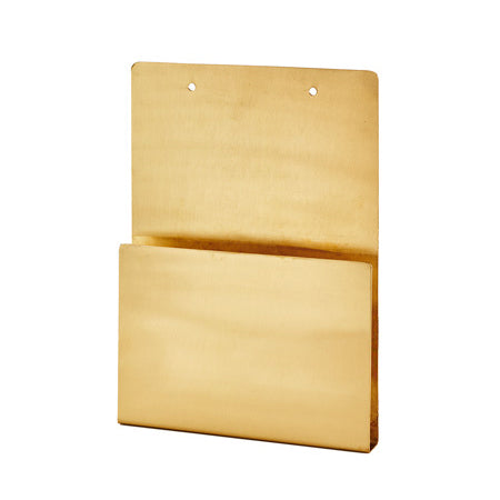 Brass File Holder