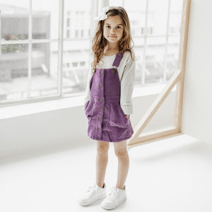 Grace Cord Dress (Lavender)