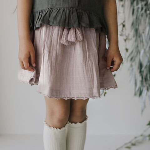 Lace Hazel Skirt (Sweet Pea)