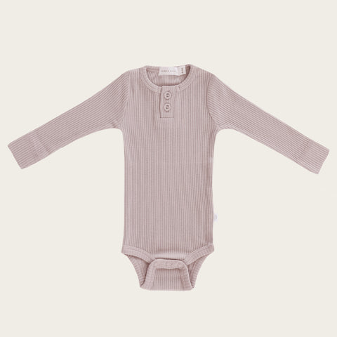 Organic Essential Long Sleeve Bodysuit (Fairy)