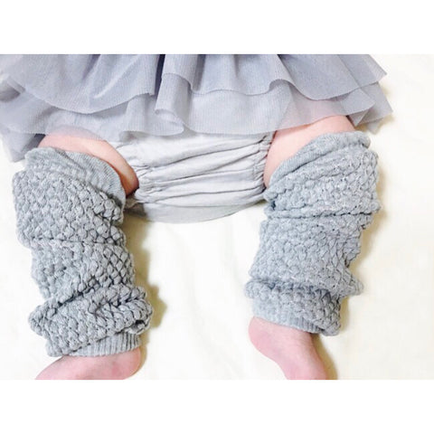 Organic Cotton Leg Warmers - 6 colours