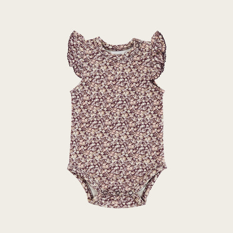 Frill Singlet Bodysuit (Lily of the Valley)