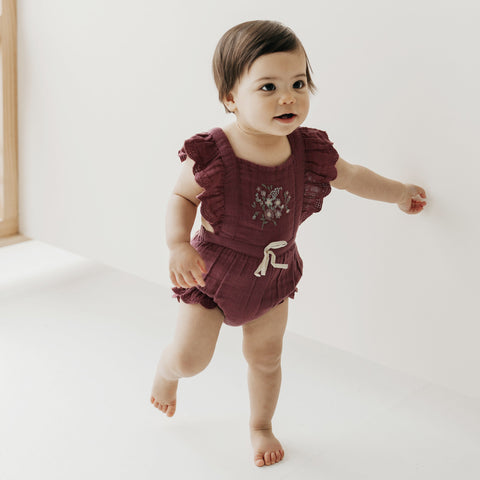 Macy Playsuit (Grape)