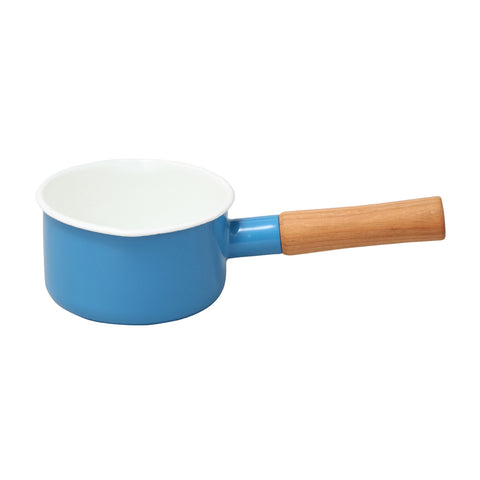 Enamel Milk Pan 12cm (Blue)