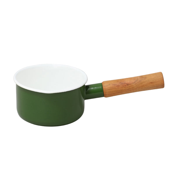 Enamel Milk Pan 12cm (Green)